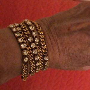 Chan Luu Gold wrap bracelet
